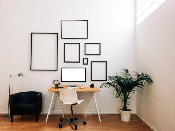 Office of a creative entrepreneur.