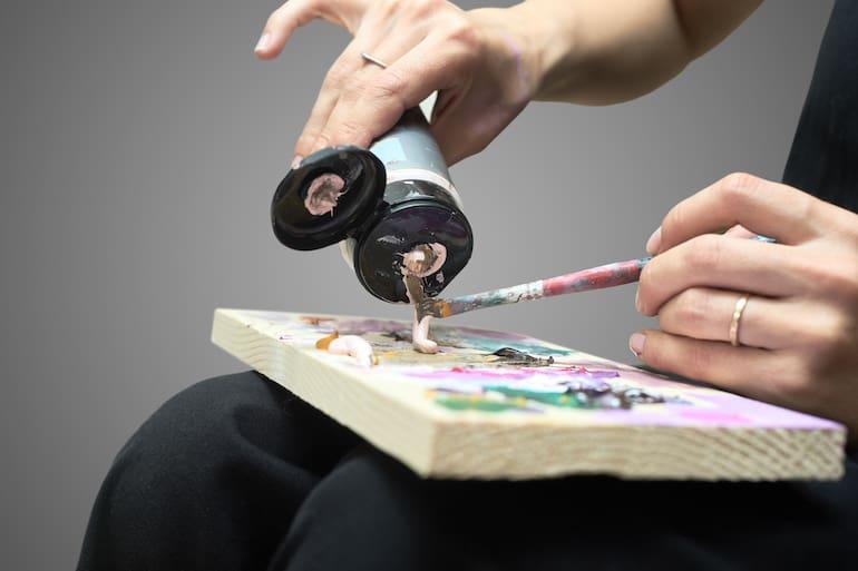 Pinturas acrílicas