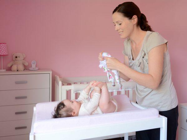 Cambiador de bebés