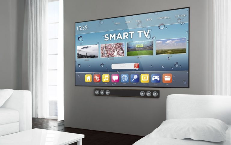 Televisión con barrade sonido