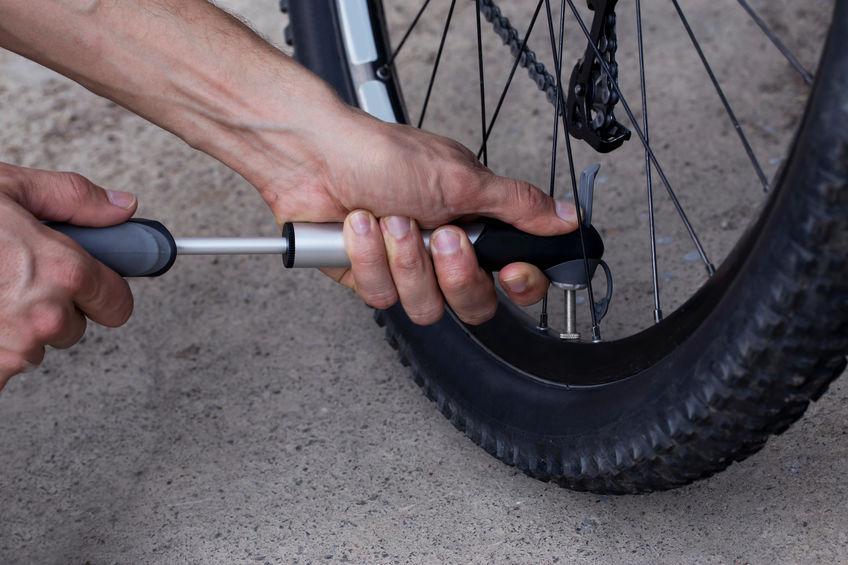 Bomba de aire para bicicleta