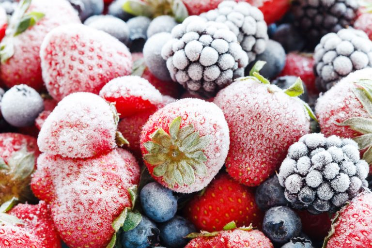 Frutas congelada