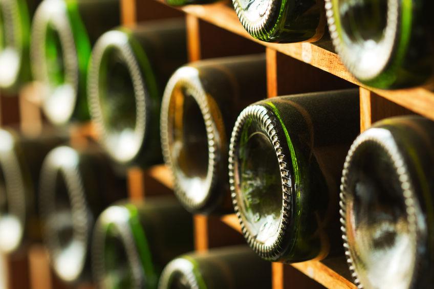 Imagen de varias botellas
