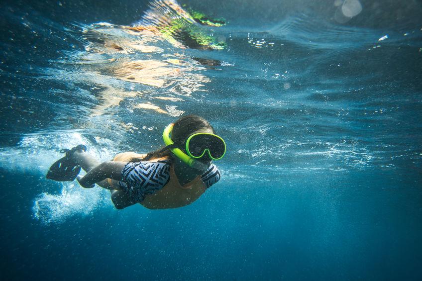 máscara-de-snorkel