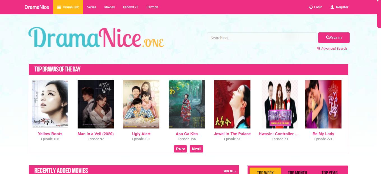 Plataforma en línea Drama Nice