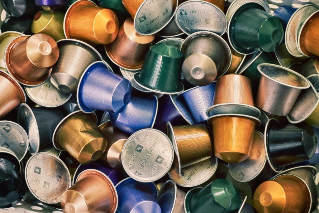 capsulas de diferentes cafés