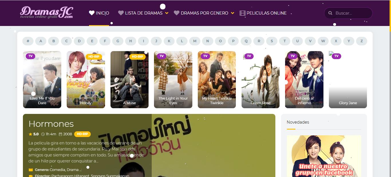 Plataforma en línea Dramas JC