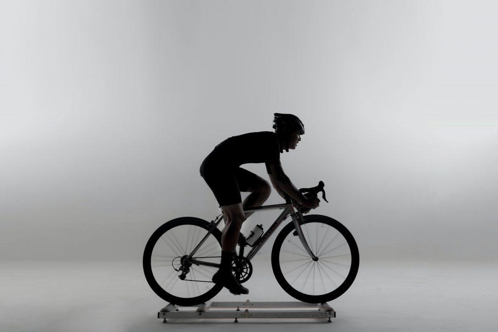 chco en bicicleta