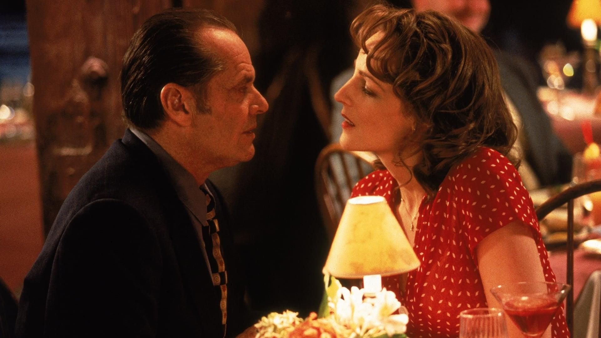 Escena de la pelicula romántica Mejor... imposible
