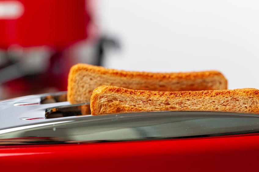 tostadora roja