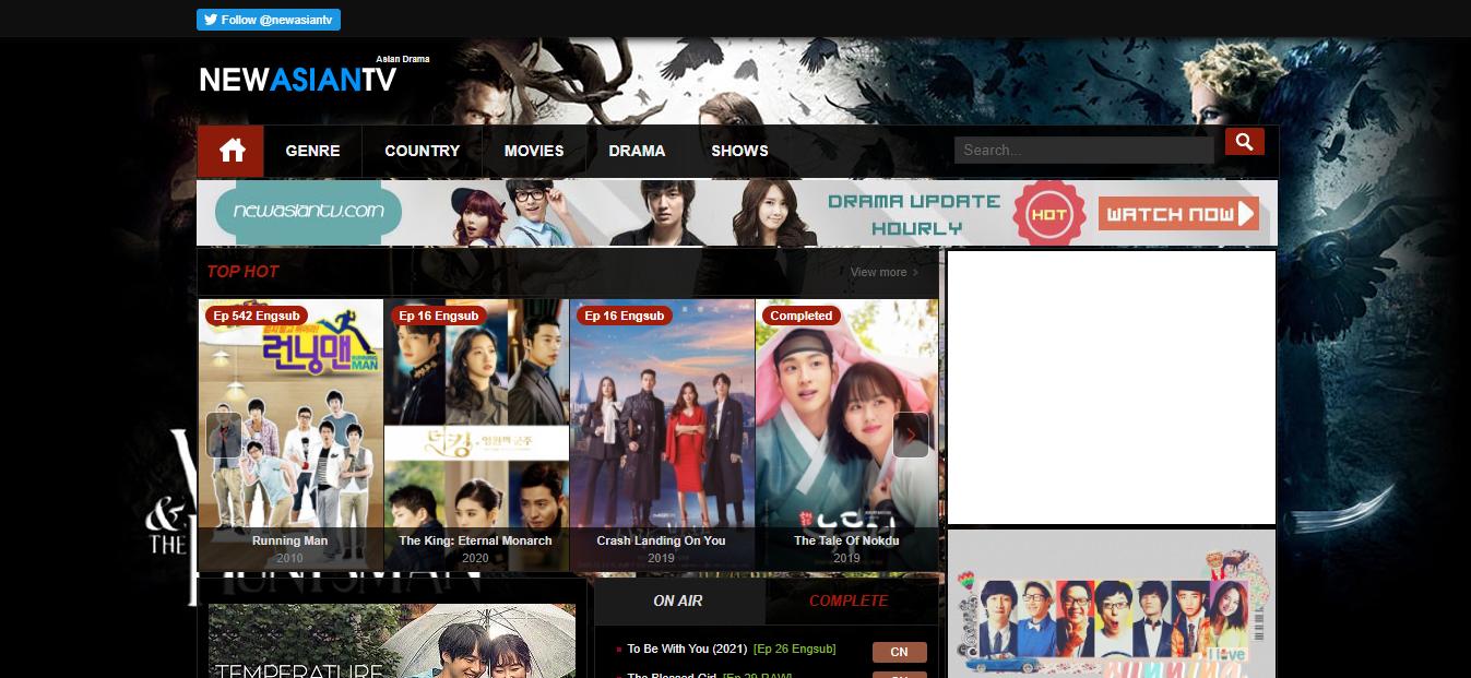 Plataforma en línea New Asian TV