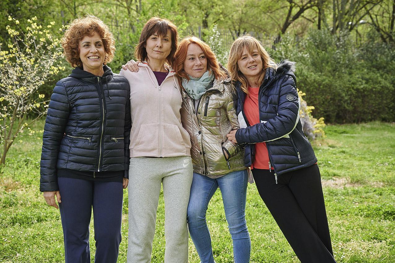 Las cuatro mujeres protagonistas