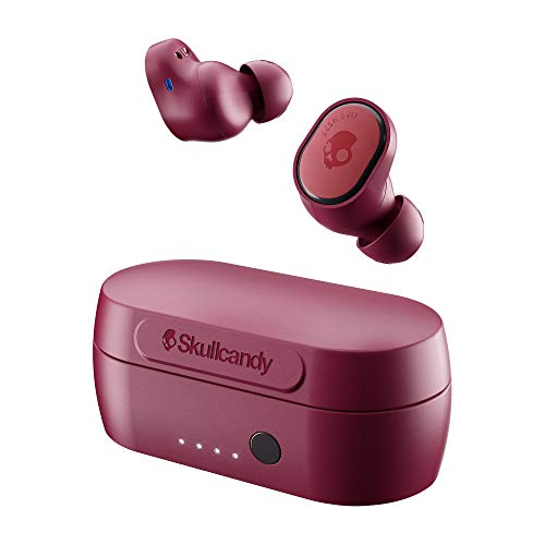 SKULLCANDY Audifonos Inalámbrico SESH EVO True Wireless IN-Ear IN Ear, Tala Única, Rojo Profundo