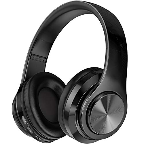 SEASKY Auriculares inalámbricos,Auriculares para Juegos micrófono con Reductor de Ruido Integrado,Ideal para PC o Smartphone