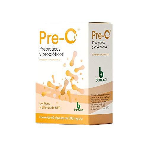 Pre-O Probióticos y Prebióticos 60 cápsulas