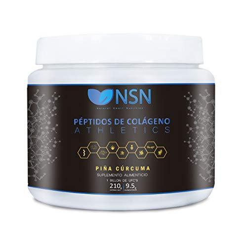 NSN Péptidos de Colágeno | Para deportistas | 100% natural con probióticos, prebióticos y enzimas