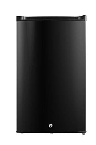 Congelador vertical Negro Con cerradura