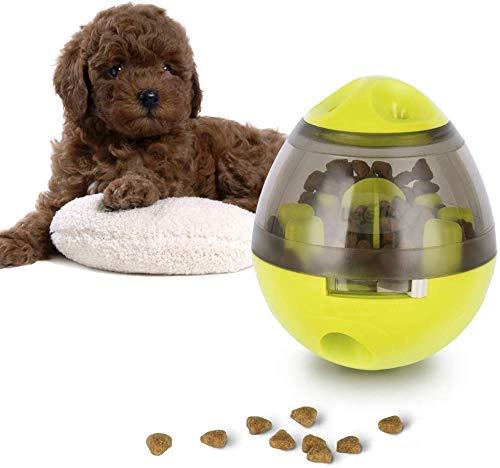 Uplayteck Juguetes para Perros, Pets IQ Treat Ball Pelotas de Juguetes Interactivos para Mascotas Divertido comedero para Perros con Alimentación Lenta, Alimentador Premios para Perros y Gatos