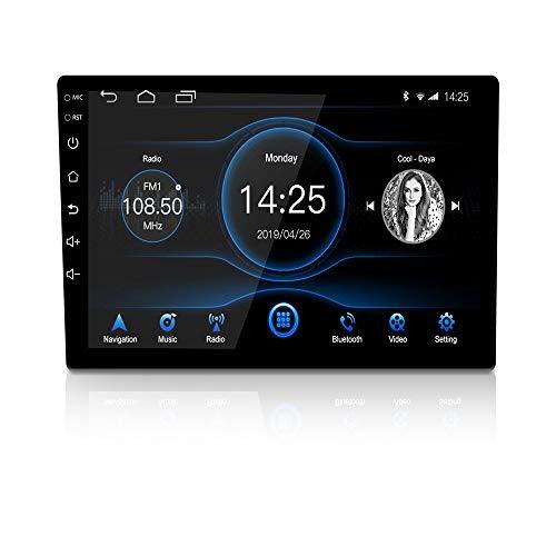 LEXXSON - Radio estéreo para coche Android 10.1, pantalla táctil de 9 pulgadas de alta definición, 1024 x 600 GPS, con reproductor USB Bluetooth 2G DDR3+16G NAND Flash