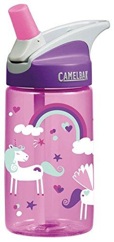 CamelBak Eddy Kids .4l Botella de agua, CamelBak eddy Kids .4L, Unicorns, 0.4 L