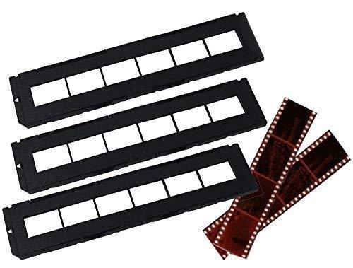 Juego de 3 bandejas negativas – Se adapta a la mayoría de escáneres Zonoz, Wolverine Data, Jumbl, Magnasonic, Digitnow, SainSonic & ClearClick de 35 mm Slide & Negative