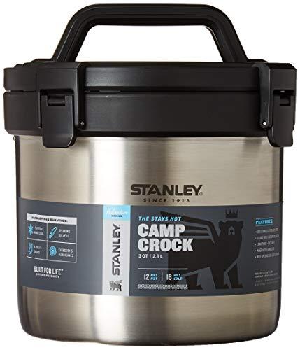 Stanley Adventure Stay Hot - Maceta de Acero Inoxidable con Aislamiento al aspiradora, Mantiene los Alimentos Calientes Durante 12 Horas y frío Durante 16 Horas