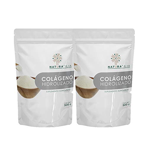 Colágeno Hidrolizado en Polvo 500g - 2 Pack (1 kilo)