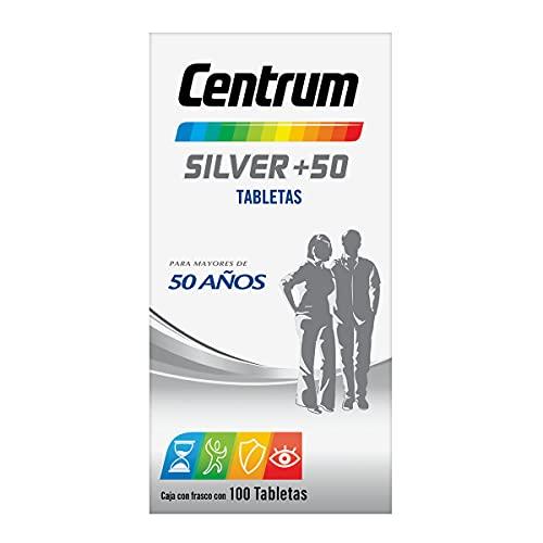 Centrum Multivitamínico Silver +50 Frasco con 100 tabletas
