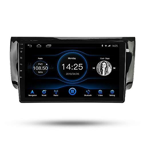 LEXXSON Radio de coche Android 8.1 estéreo de 10.1 pulgadas capacitiva pantalla táctil de alta definición GPS Navegación Bluetooth reproductor USB 1G DDR3 + 16G NAND Flash de memoria para Nissan Sentra 2013 2014 2015 2016 2017