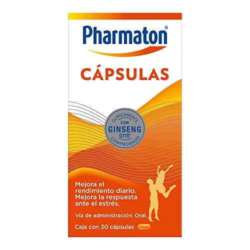 Pharmaton Pharmaton Nva Form Cap C30, color, 30 count, pack of/paquete de