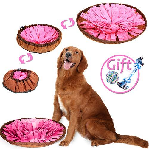 Shacoryze Alfombrilla para perros, juego de puzzle, cerebro de perro, juguetes de enriquecimiento para aburrimiento, estimulación, juguetes interactivos inteligentes