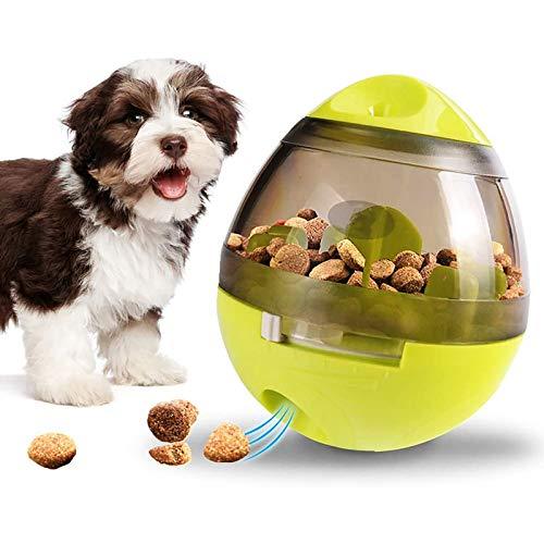 Dispensador de Juguetes para Perro, Vagalbox Divertido e Interactivos Pelota de Juguete Interactiva para Mascotas Pequeñas y Medianas,Aumentan la Atención, Disminuyen la Velocidad de Alimentación y Promueven la Alimentación Saludable