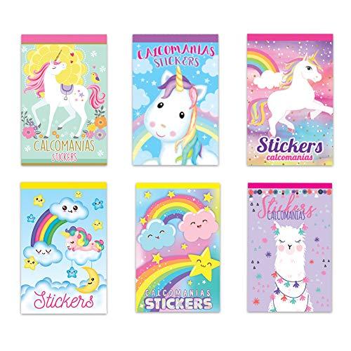 GRANMARK Unicornio/Llamas Calcomanía Sticker