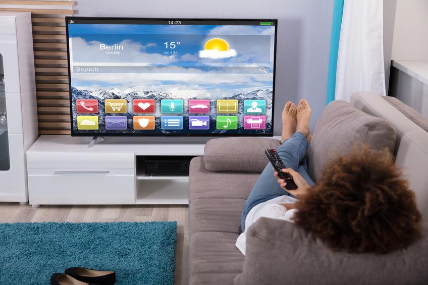tv en sala