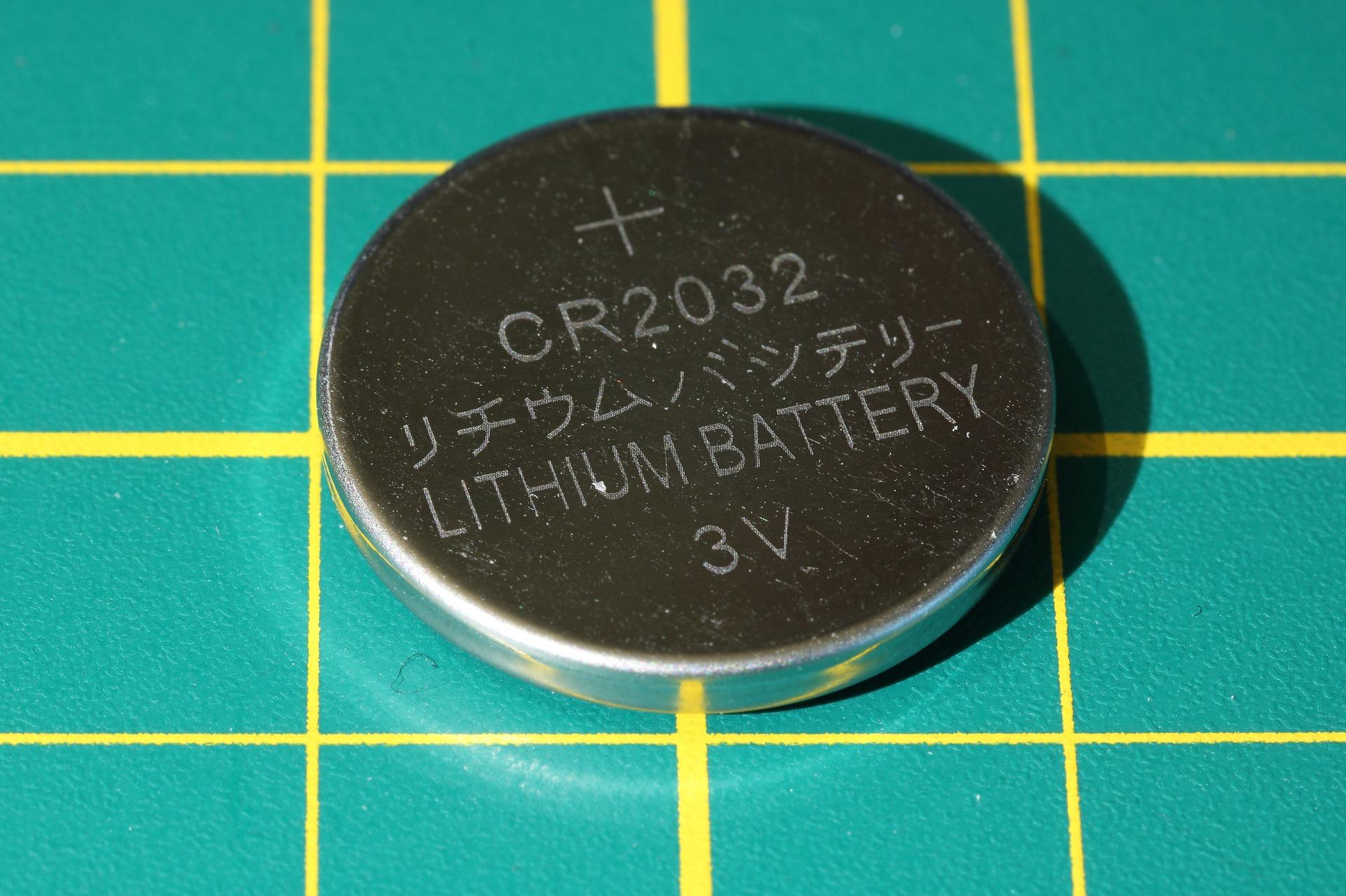 Baterias de botones