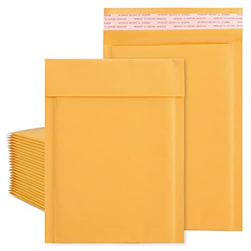 Metronic - Sobres acolchados (25 x 40,6 cm, tamaño grande, tamaño # 5, autoadhesivo, impermeable, acolchados, paquete grande de 25 unidades)