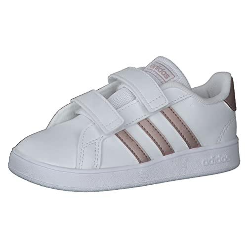 Adidas EF0116 Grand Court Zapatillas de Deporte recién Nacido bebé Primeros Pasos bebé