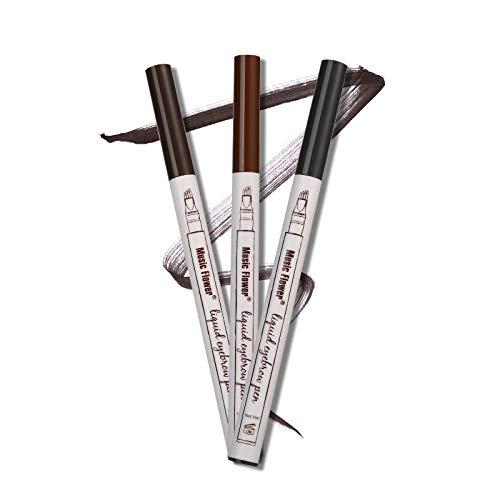 Plumón Para Cejas Tipo Microblading Aspecto Natural (dark grey)