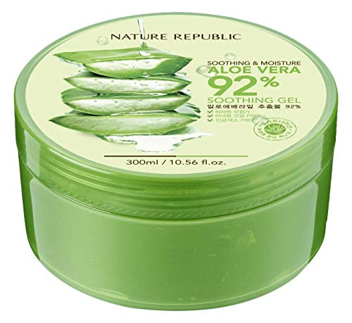 Nature Republic Soothing And Moisture Aloe Vera 92% Gel 300 Ml
