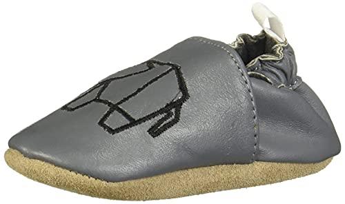 Suabs, Elefante Gris, niño. Zapatos para bebé niño. (11 cm)