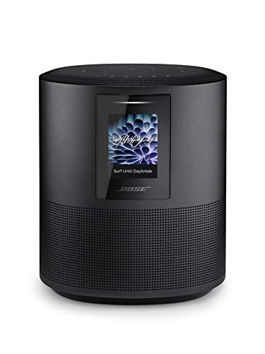 Bose Home Speaker 500 - Altavoz con Amazon Alexa integrada, Peso de 2.15 kg, Negro (Triple Black)