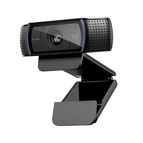 Logitech - C920 - Cámara Web Full HD 1080p - Negro