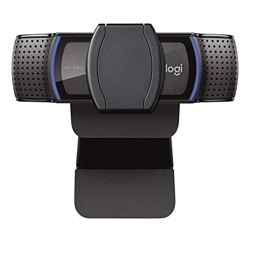 Logitech - C920s - Cámara Web Full HD 1080p con Tapa de Obturador - Negro