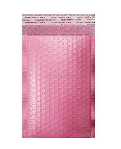 Sobres De Burbuja De 18*23 CM, Sobres Acolchados, Sobres De Envió Con Auto Adhesivos, 25 Piezas (Rosa)