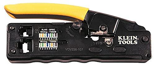 Klein Tools VDV226-107 Pinza Ponchadora / Peladora - Modular