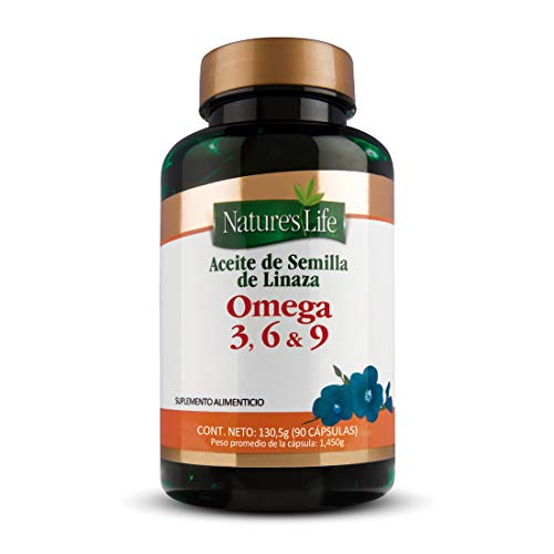 Nature´S Life Aceite Linaza Omega 3 6 Y 9 C90Caps