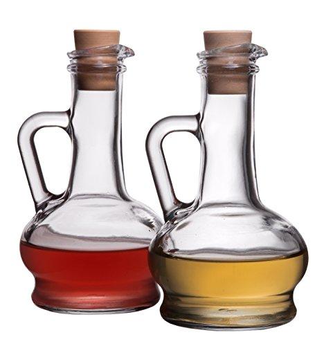 Red Co. Aceites de Aura y vinagre, 8.7 onzas – Juego de 2 botellas