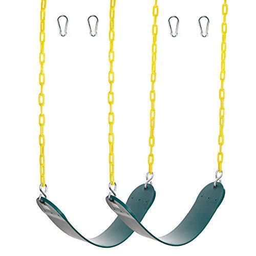 2unidades Heavy Duty–Asiento de Swing columpio columpio de accesorios reemplazo