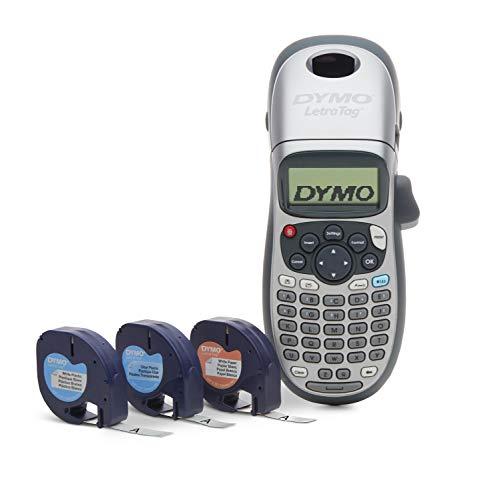 DYMO LetraTag Plus LT-100H - Etiquetadora personal (21455), LT 100H Plus, Como se muestra, Label Maker + 3 extra tapes
