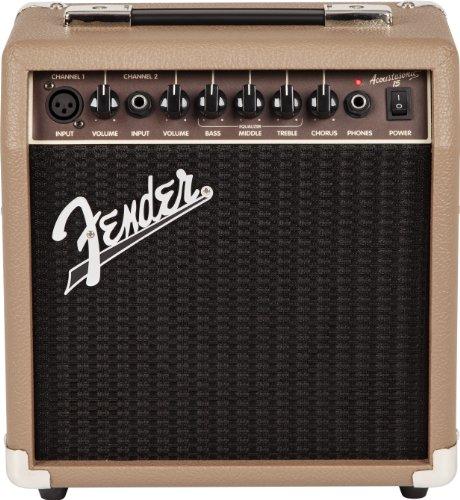 Fender Acoustasonic Amplificador de Guitarra Acústica 15-15 W